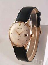 Reloj de Pulsera edición limitada de caballero vintage suizo Accurist 21 Joya Chapado en Oro Mecánico! Hermoso!