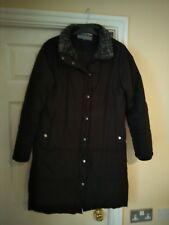 black ladies padded coat