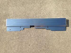 1978-1988 G-Body Radiator Support Satin Finish Aluminum Bead Rolled