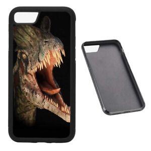 Dinosaur Dilophosaurus RUBBER phone case fits iPhone