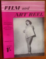 FILM AND ART REEL Late 40's film magazine Googie Withers, Jean Kent