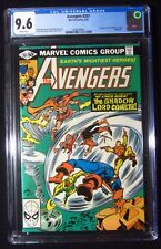 Avengers #207 (1981 Marvel) CGC 9.6...1st Shadow Lord & Bezerker