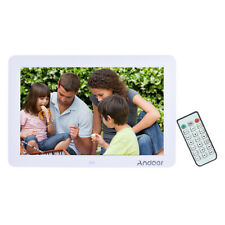 12inch  LED Digital Photo Picture Frame Movie Player Remote Control White U3W3
