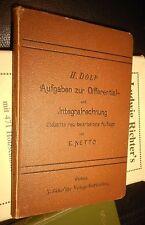 1850-1899 Antiquarische Bücher aus Mathematik für Studium & Wissen