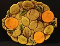 Vintage Inarco Japan Orange Spice Serving Tray/Platter With Tab Handles E3561