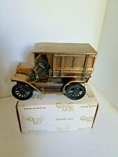 Vintage 1970's Banthrico 1915 Ford Omnibus Coin Bank Metal with Box