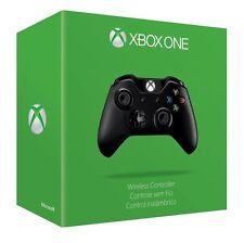 Official Microsoft Xbox One Black Wireless Controller OEM Genuine S2V-00001 VG
