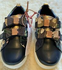 Baker by Ted Baker Navy Floral Girls Trainers Size 10 UK / 28 EU BNWT RRP £38