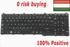 For Toshiba Satellite L750 L750D L755 L755D L770 Keyboard Hungarian Magyar Black