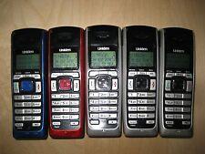 Lot of 5 Uniden Dect2080-5 1.9 Ghz Single Line Cordless Expansion Handset Phone