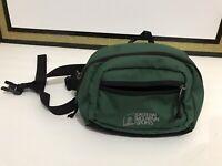 Eastern Mountain Sports Fanny Pack Hiking Utility Waist Bag Green Bag Pockets