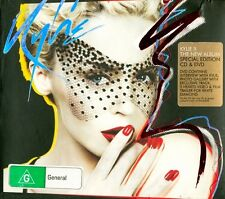 KYLIE MINOGUE - KYLIE X-  SPECIAL LIMITED EDITION - CD+DVD - CD ALBUM (AS NEW)
