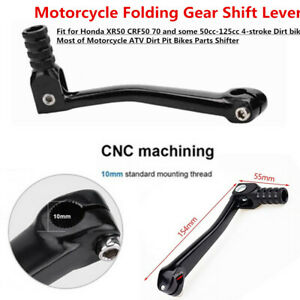 Folding Gear Shift Shifter Lever CNC Aluminum Durable for Motorcycle Dirt Bike×1