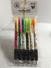 Disney Parks Minnie Mouse  6 Pack Pen Set - NEW blank ink Bright Colors