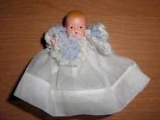 Nancy Ann Storybook Doll ~ #202 Short Dress & Jacket, Star Hand c 1940