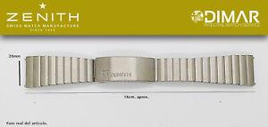 Replacement Watch Band / Bracelet Original Zenith, Steel REF.005