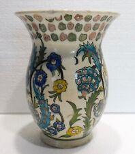Ancien VASE céramique IZNIK XIXème TURQUIE