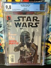 STAR WARS TALES #18 PHOTO COVER CGC GRADED 9.8 BOBA FETT!