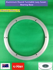 NEW Aluminium Turntable Rotating Lazy Susan Bearing Round Plate Base 40cm 14""