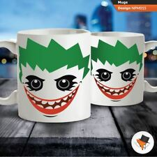 Joker cartoon illustration Batman coffee tea mug cup gift birthday christmas !
