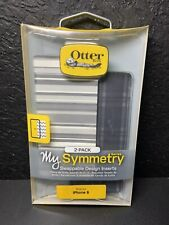 New OtterBox Symmetry Series Swappable Inserts For iPhone 6/6s Gray