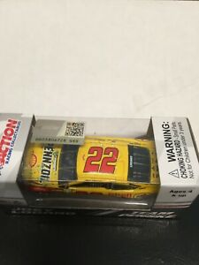 1:64 Action Joey Logano #22 Shell-Pennzoil Homestead Win 2018 Fusion