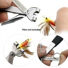 Fly Fishing Tackle 4 in 1 Knot Tyer Tool Tie Fast Combo Fish Lines Clipper Zing