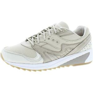 Saucony Mens Grid 8000 Leather Fitness Trainers Running Shoes Sneakers BHFO 6022