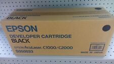 Toner EPSON S050033 originale nero per Aculaser C1000/C2000