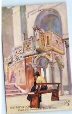 *The Bay of Naples Pulpit of S. Giovanni Del Toro Ravello Art Postcard A33