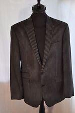 "Vintage Next grey pin stripe jacket size 42""R large classic smart gent"