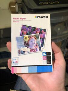"Polaroid 6 x 4"" PREMIUM Gloss Photo Paper for Inkjet printers"