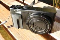 Panasonic Lumix DMC-TZ80 Digital Camera 18.1MP 30 x Zoom 4K 3-Inch LCD Black