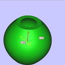 JM Sphere Planter Mold - Silicone - Geometric Mold - Cast Concrete-Resin-Wax