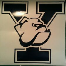 New YALE CORNHOLE DECALS - 2 CORNHOLE BOARD DECALS Vinyl Vehicle Decals
