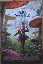 ALICE IN WONDERLAND MOVIE POSTER 2 Sided ORIGINAL INTL JOHNNY DEPP 27x40