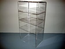 "Acrylic Lucite Countertop Display Case ShowCase Box Cabinet 9 1/2"" x 7"" x 19"""