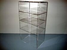 "Acrylic Lucite Countertop Display Case ShowCase Box Cabinet 9 1/2"" x 7"" x 19"""