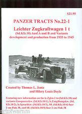 Panzer Tracts 22-1  German AFV book   by Jentz & Doyle  ,Sd.Kfz 10, sb