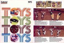 Gabriel-Hubley Metal Toys and Cap Guns 1975 Catalog