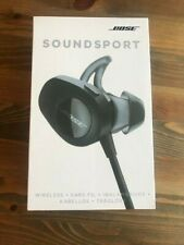 BOSE SOUNDSPORT WIRELESS  HEADPHONES ( BLACK)