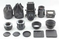 🔹N MINT w/ 2Lens🔹 Mamiya RZ67 Pro Sekor Z 90mm 180mm 120 Film Back from Japan