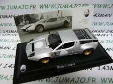 Maserati Bora grupo 4 plata 1:43 maqueta de coche