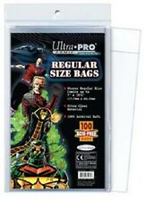 100 pochettes Ultra Pro Comics Regular Size Bags 17,70 x 26,30 cm comic AW2632