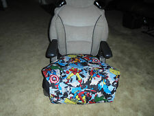 Marvel character toddler booster seat cover--booster seat not included