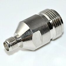 N Type Female Jack to SMA Female Plug Straight RF Coaxial Adapter Connector NEW