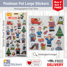 Postman Pat Stickers Christmas Large 2001
