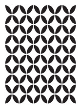 high detail airbrush stencil celtic pattern FREE POSTAGE