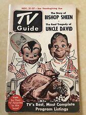 HOWDY DOODY & ROOTIE KAZOOTIE - 1952 TV GUIDE - N.Y. EDITION - NO LABEL - FINE