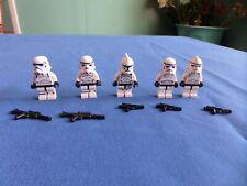 LEGO STAR WARS CLONE MINIFIGURES LOT